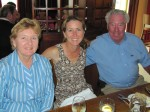 Anney Anne (my grandfather's sister), my cousin Mary and Uncle John from California