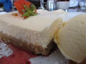 Bailey's cheescake