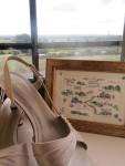 Artistic shoe/wedding invitation/Irish scenery photo