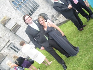 My brother Patrick and my cousin Fiona