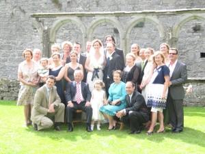 All the Irish cousins!