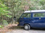 I live in a van...DOWN BY THE RIVER