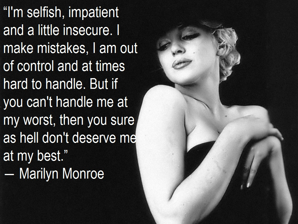 Famous Marilyn Monroe Quotes About Love