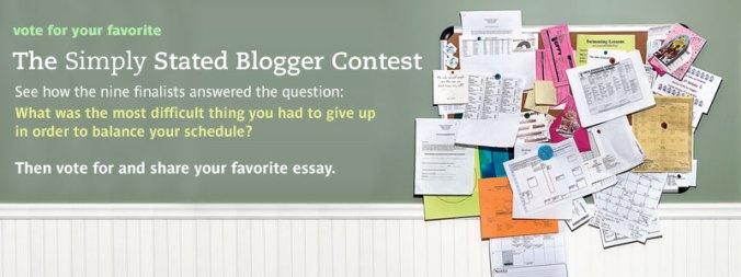 Blogger Contest!